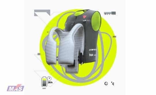 airbag en chaleco para motoristas