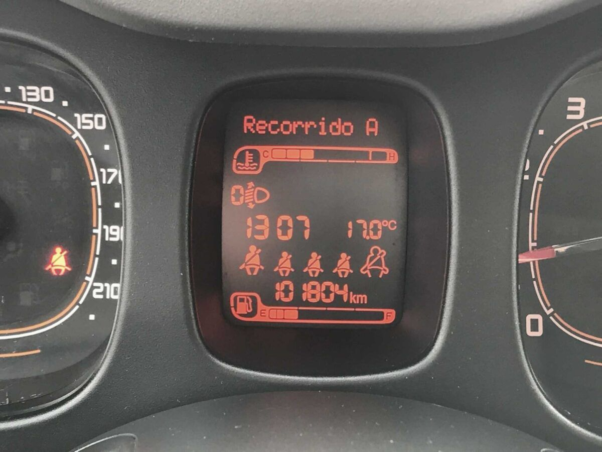 FIAT PANDA 1.2 LOUNGE EU6 69cv 5P ocasión