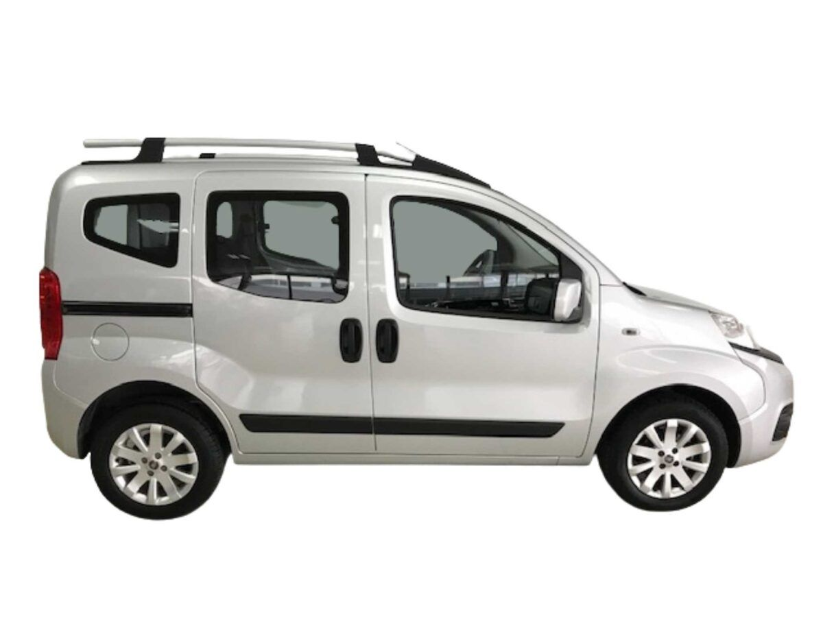 Fiat Qubo Lounge 1.3 Mjet 80cv ocasión lateral