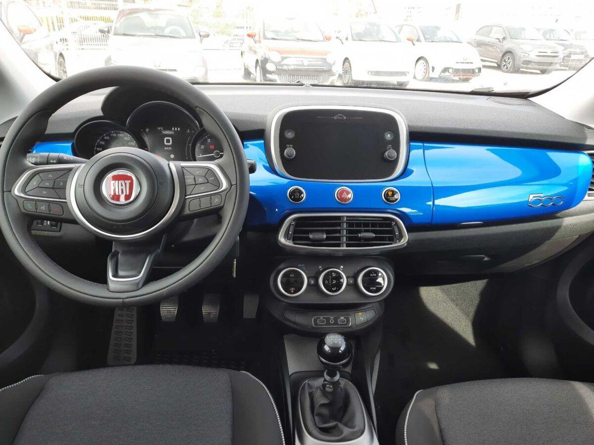 Fiat 500x urban 120 cv de 2020 km0 salpicadero