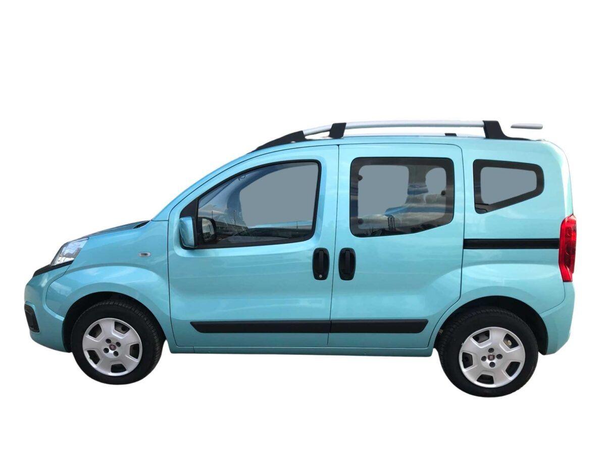 Fiat Qubo 1.3 Mjet Lounge de 80 cv en verde, ocasión.