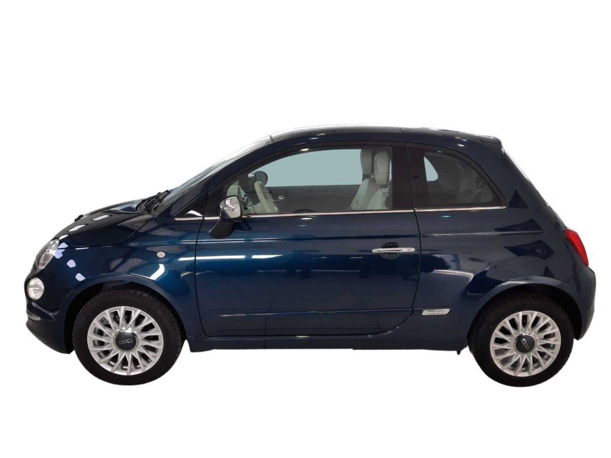 Fiat 500 de ocasión 1.2 69 cv acabado lounge gasolina azul
