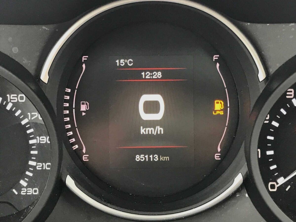 Cuenta kilómetros Fiat 500L GLP Lounge de 1.4 cv