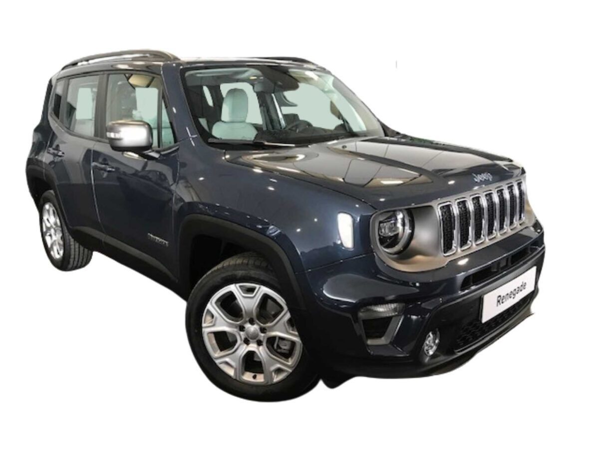Jeep Renegade limited híbirdo enchufable motor 1.3 de 190cv de km0