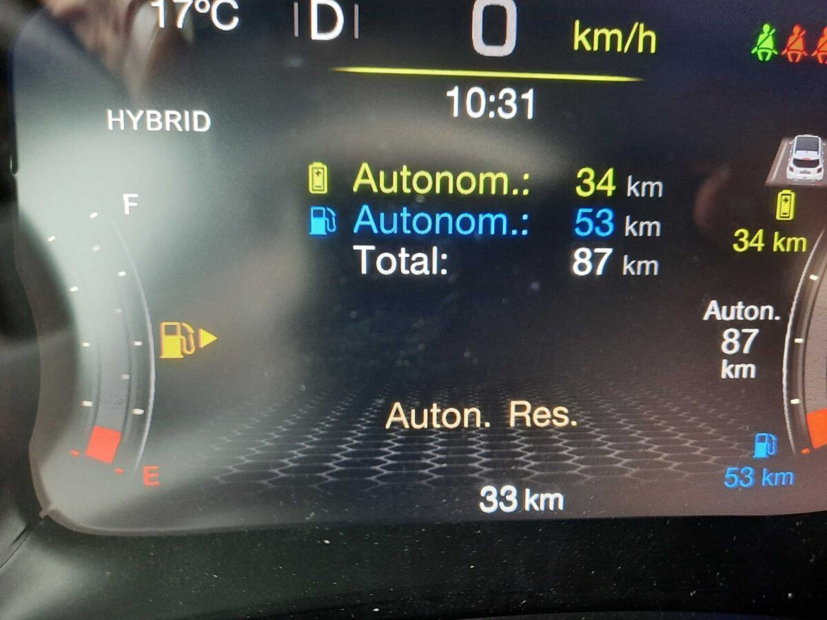 Jeep Renegade híbrido enchufable de 2020 motor 1.3 con 240cv de km0