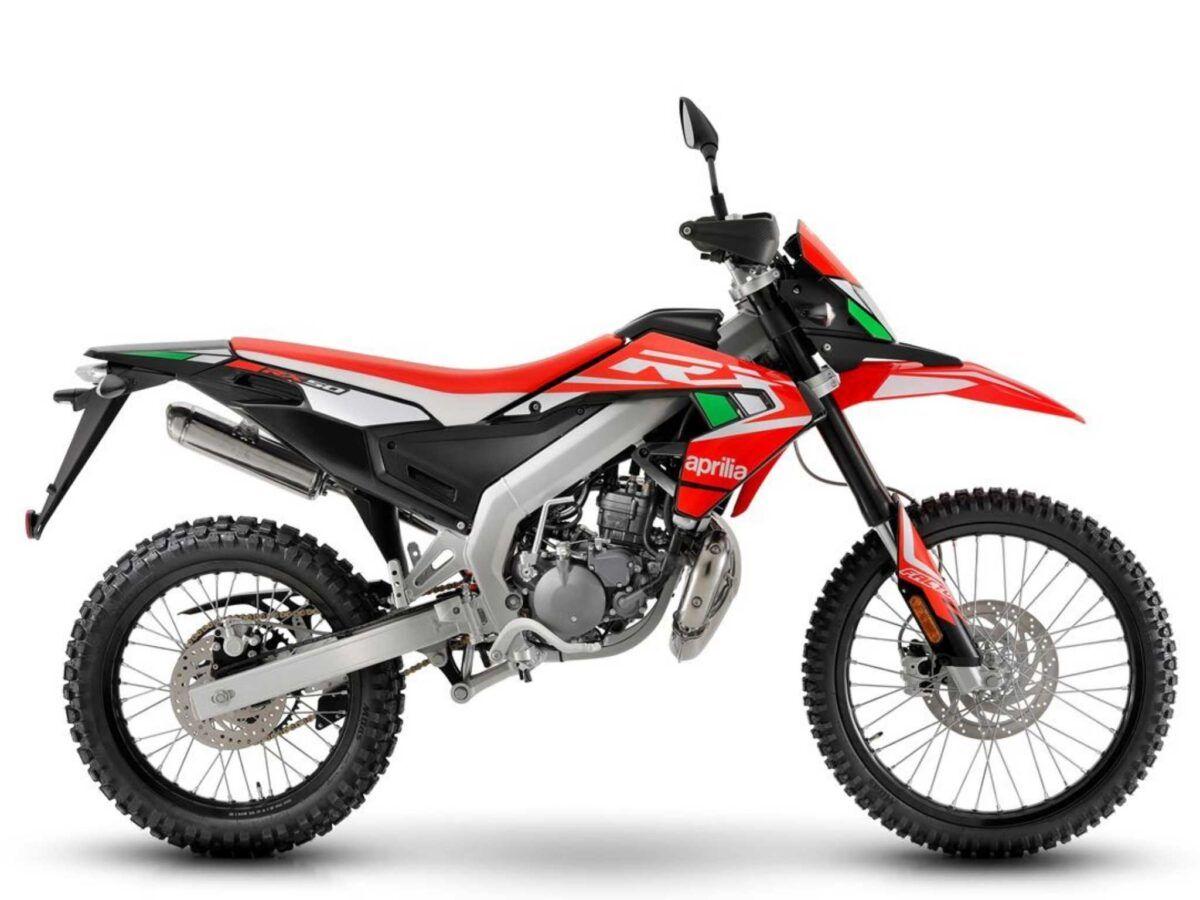 Aprilia RX50 factory red boost nueva