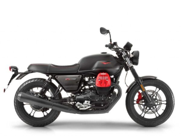 Moto Guzzi v7 III carbon dark nueva