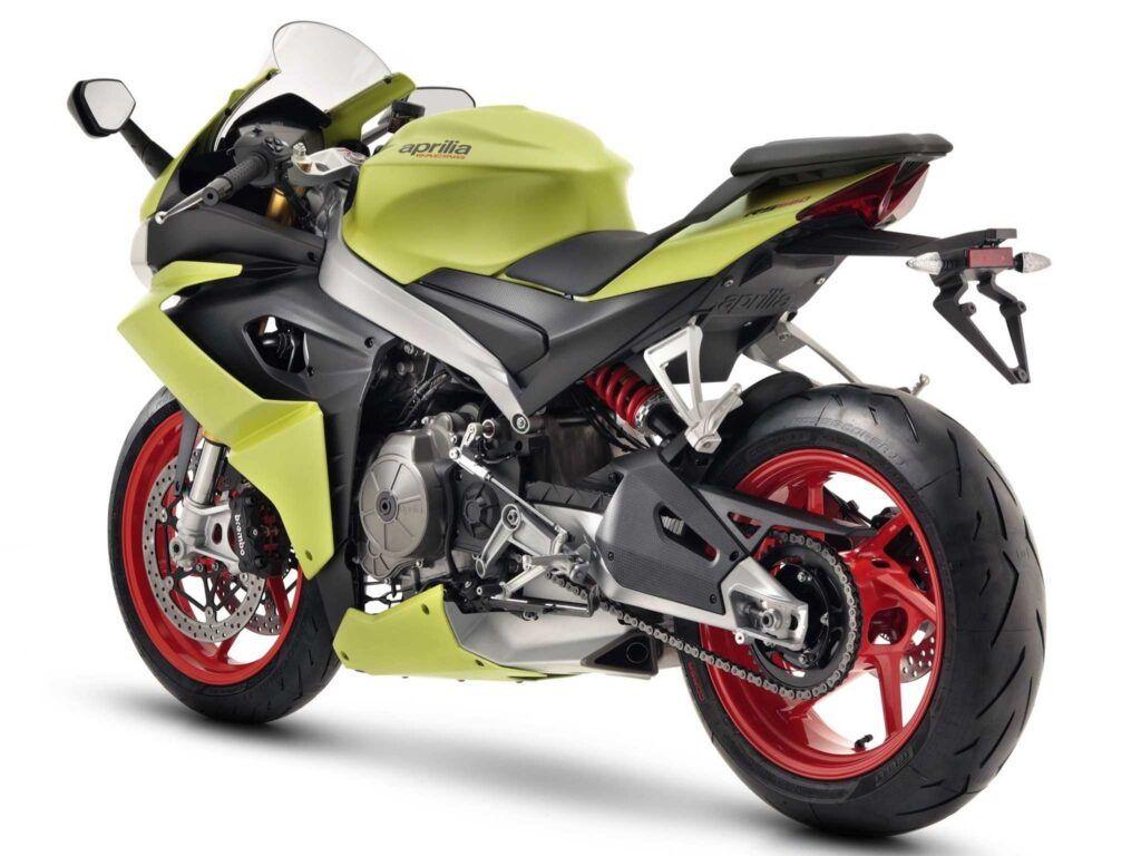 Moto Aprilia RS660 acid gold nueva