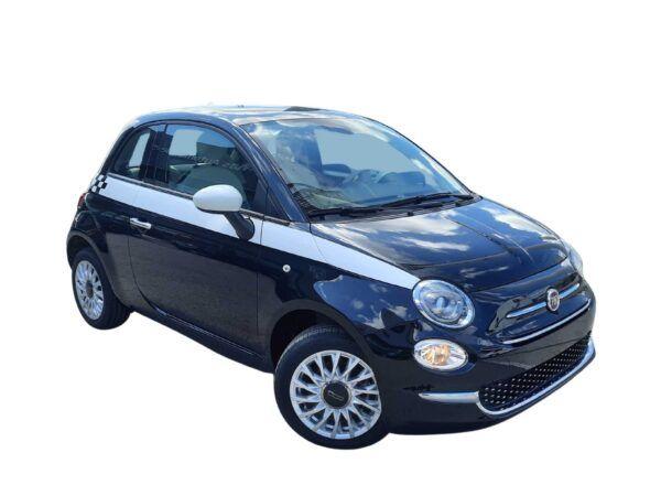 Fiat 500 1.2 69cv lounge gasolina en color negro de km0