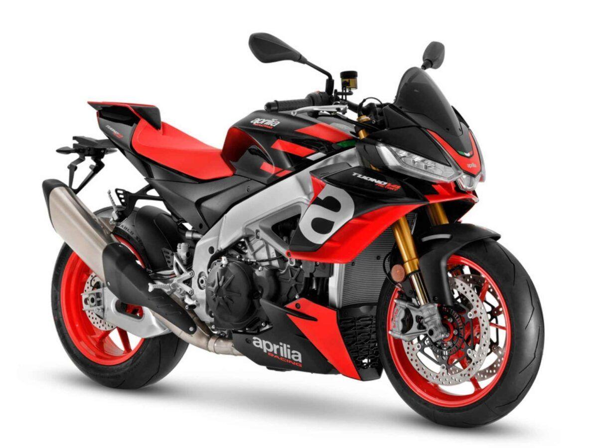 Moto Aprilia Tuono v4 1100 factory euro 5 color negro