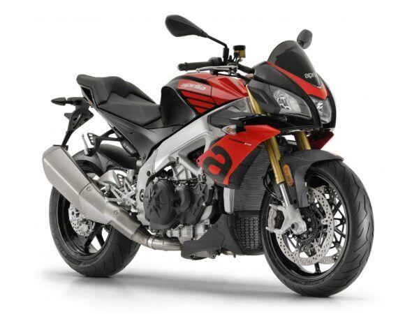 Moto Aprilia Tuono V4 RR rojo sachsenring euro 4 nueva