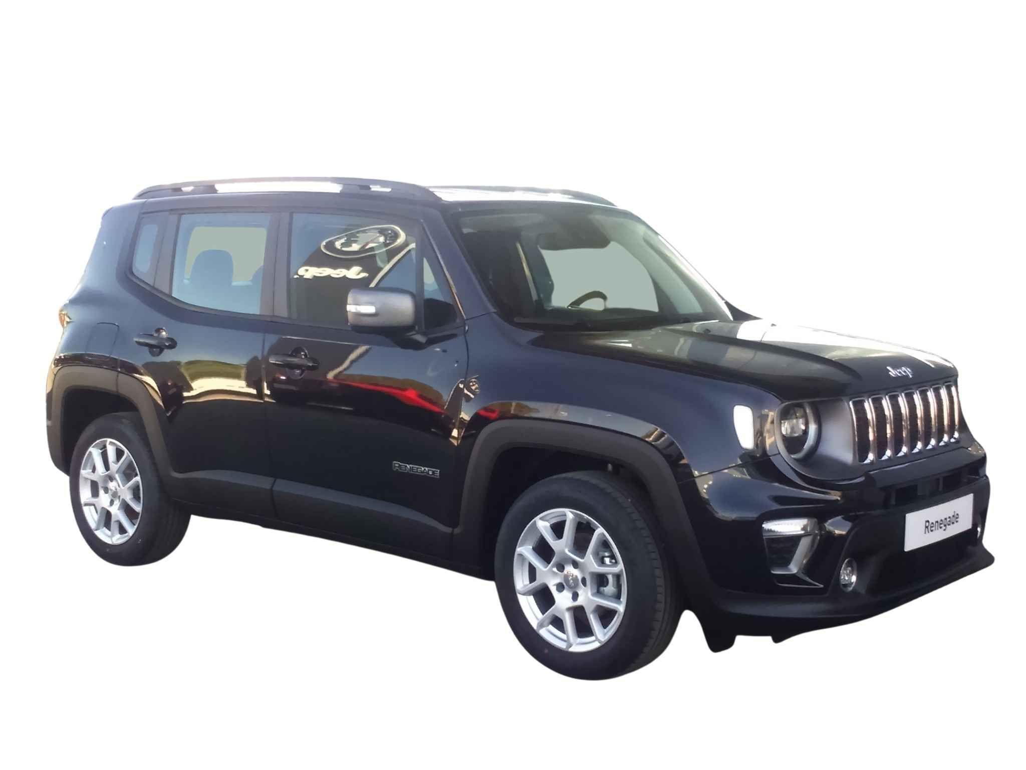 Jeep Renegade MY21 Limited II 1.0G 120CV 4x2 gasolina de km0 en color negro