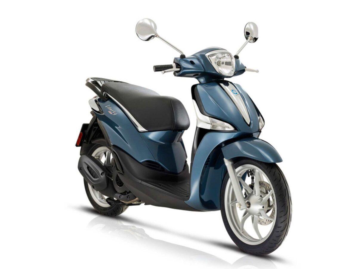 Moto Piaggio Liberty 125 ABS Euro 5 en color azul cobalto nueva