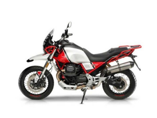 Moto Guzzi V855 TT rojo kalahari nueva