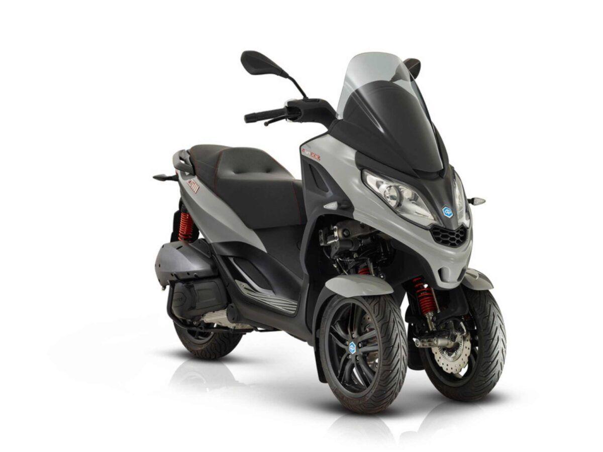 Moto 3 ruedas Piaggio MP3 300 HPE Sport euro 5 color gris