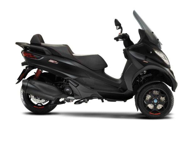 Moto 3 ruedas Piaggio MP3 350 sport E4 negra nueva ne oferta