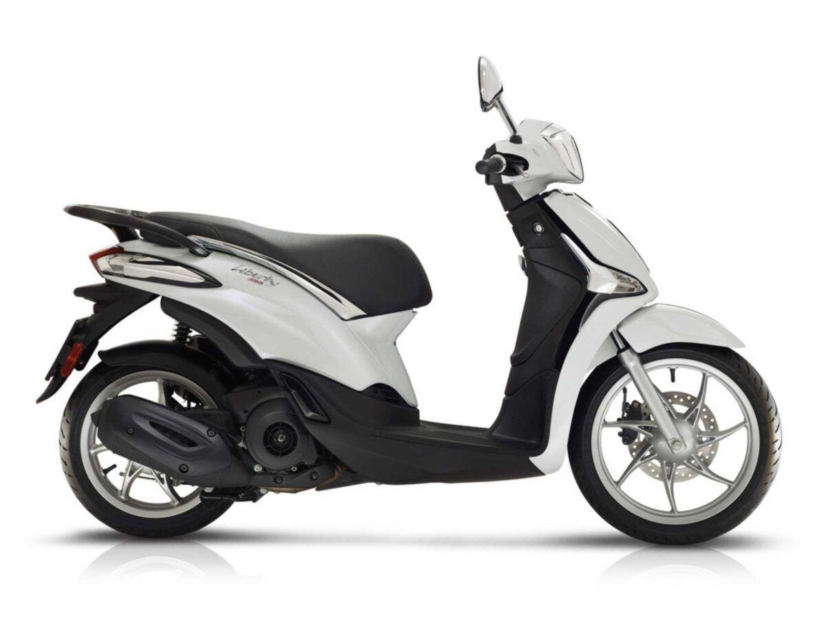 Moto Piaggio Liberty 125 ABS Euro 5 en color blanco nueva de oferta