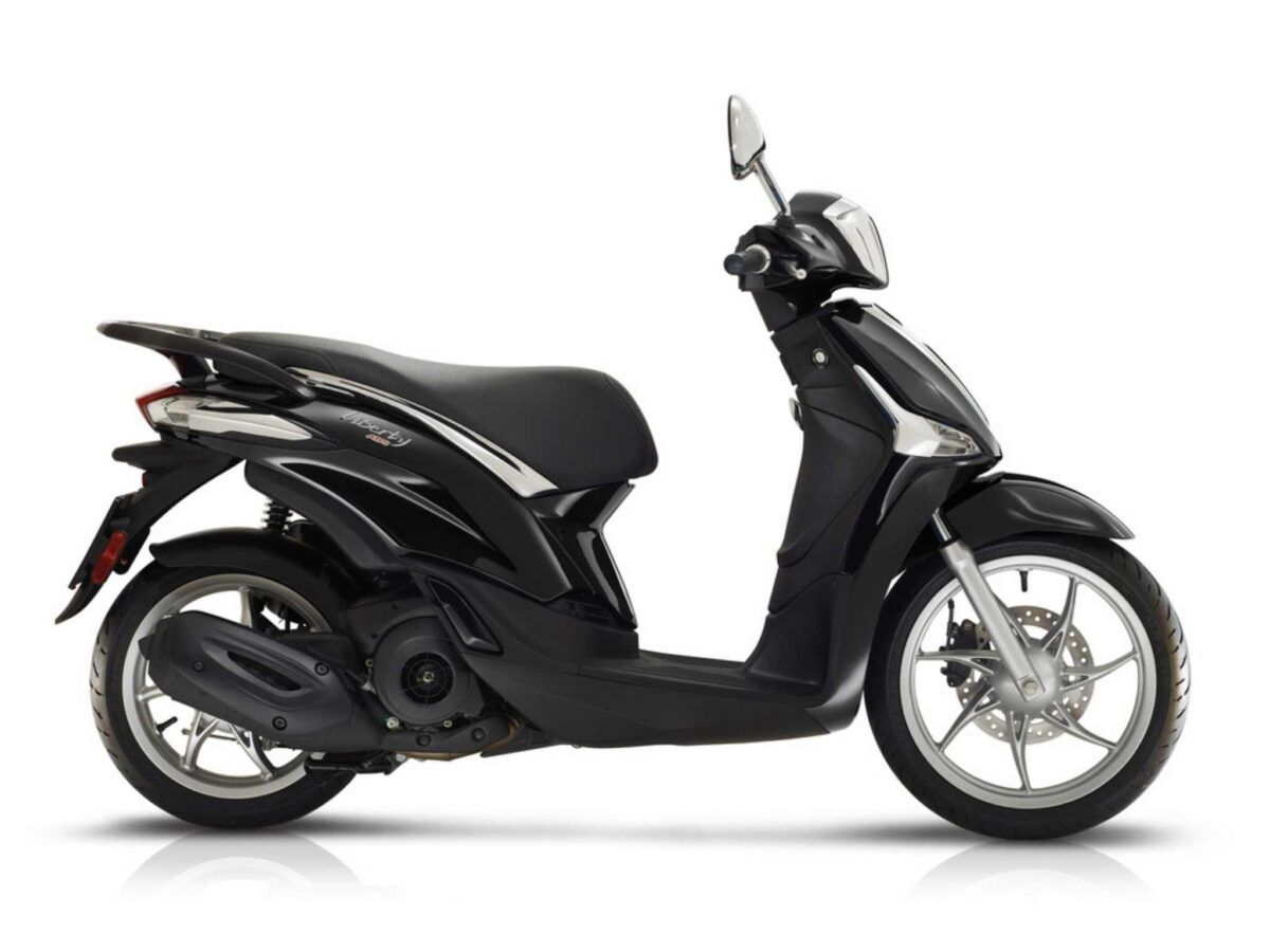 Moto Piaggio Liberty 125 ABS Euro 5 en color negro nueva de oferta