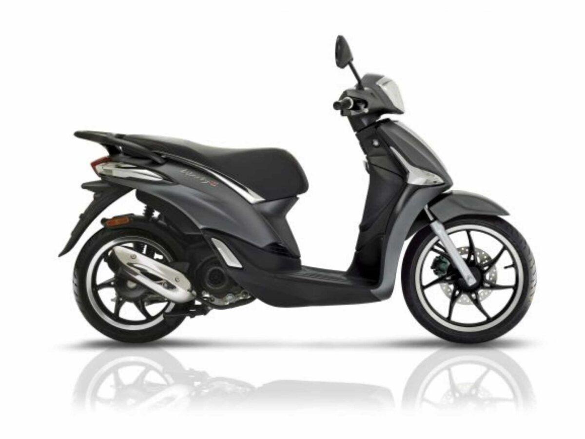 Moto Piaggio Liberty 50S color gris nueva de oferta