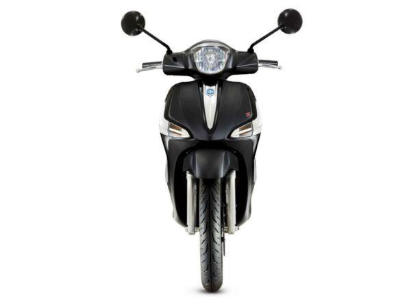 Moto Piaggio Liberty 50S en color negro nueva de oferta