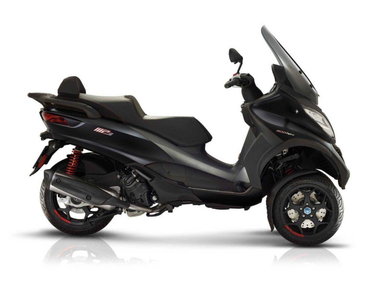 Moto 3 ruedas Piaggio MP3 500 sport advanced e5 negra nueva a buen precio