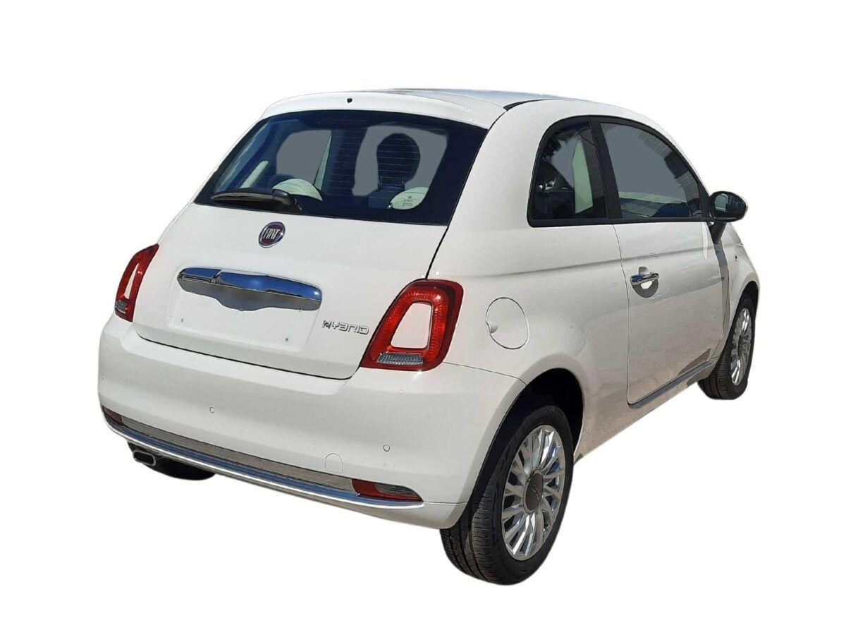 Fiat 500 lounge 1.0 70 cv km0 en color blanco