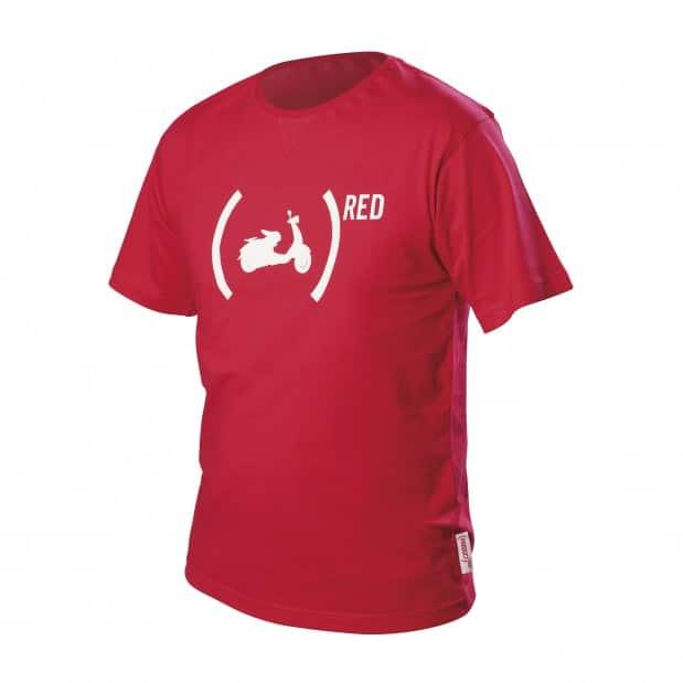Camiseta Vespa Red