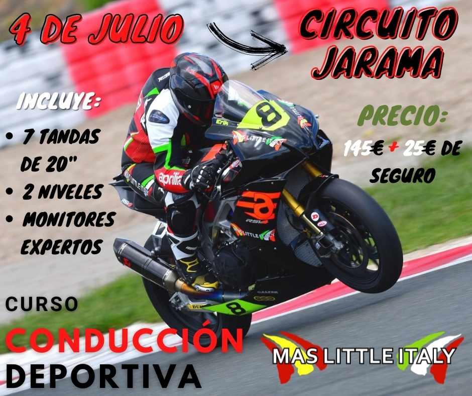 Curso de motos Aprilia en Mas Little Italy