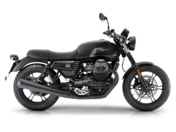 Moto Guzzi V7 Stone III 35kw euro 4 en color negro