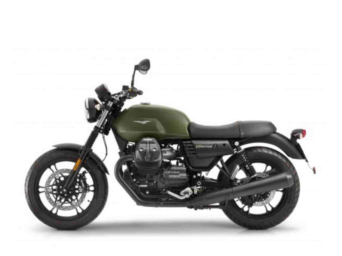 Moto Guzzi V7 Stone III verde
