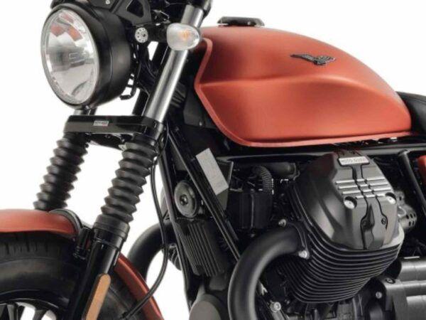Moto Guzzi V9 euro 4 sport arancio concesionario moto guzzi madrid