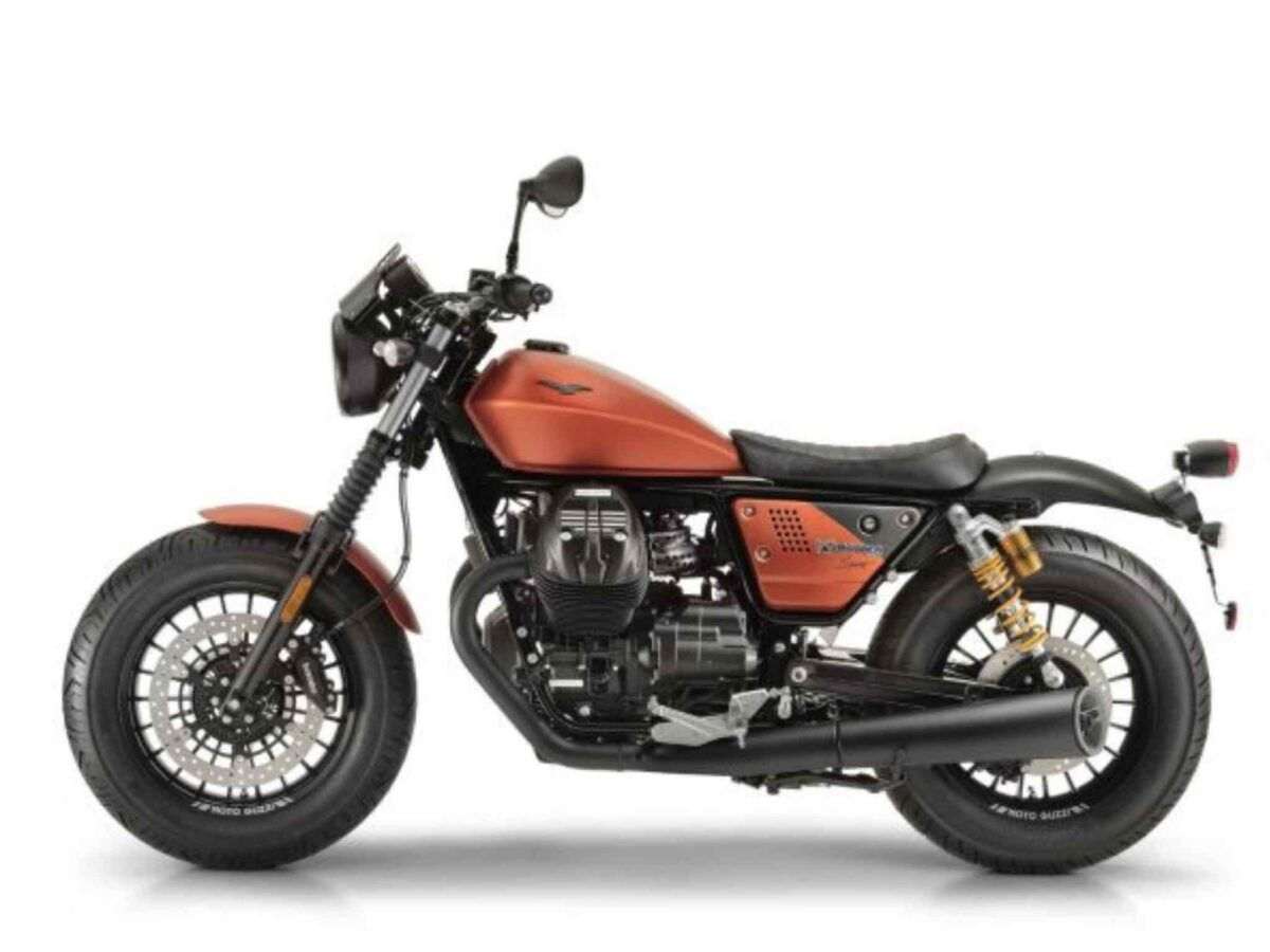 Moto Guzzi V9 euro 4 sport arancio