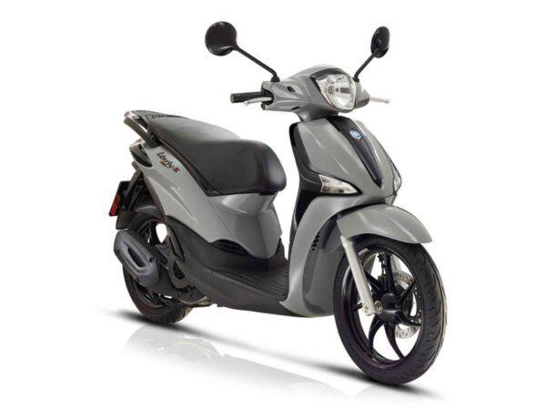 Moto Piaggio Liberty 125S euro 5 en gris nueva de oferta