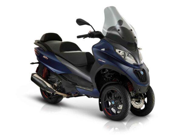 Moto 3 ruedas Piaggio MP3 500 sport advanced euro4 en azul nueva