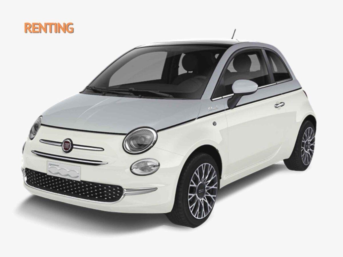 Fiat 500 híbrido Dolcevita en renting oferta