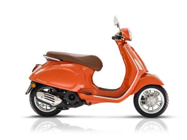 Vespa Primavera 125 E5 naranja nueva