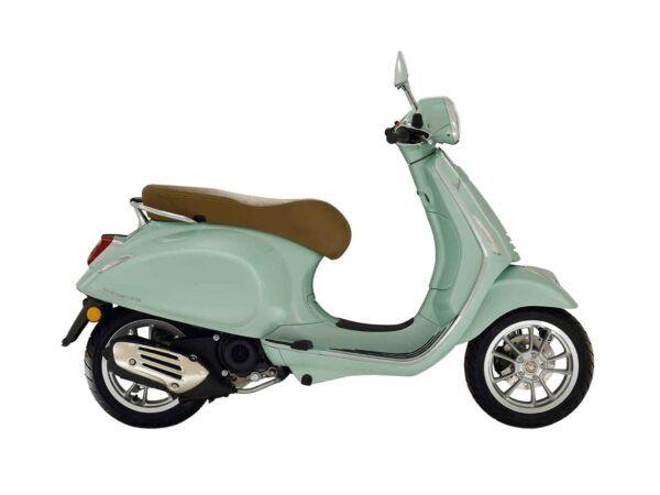 Vespa Primavera 125 e5 en color verde nueva
