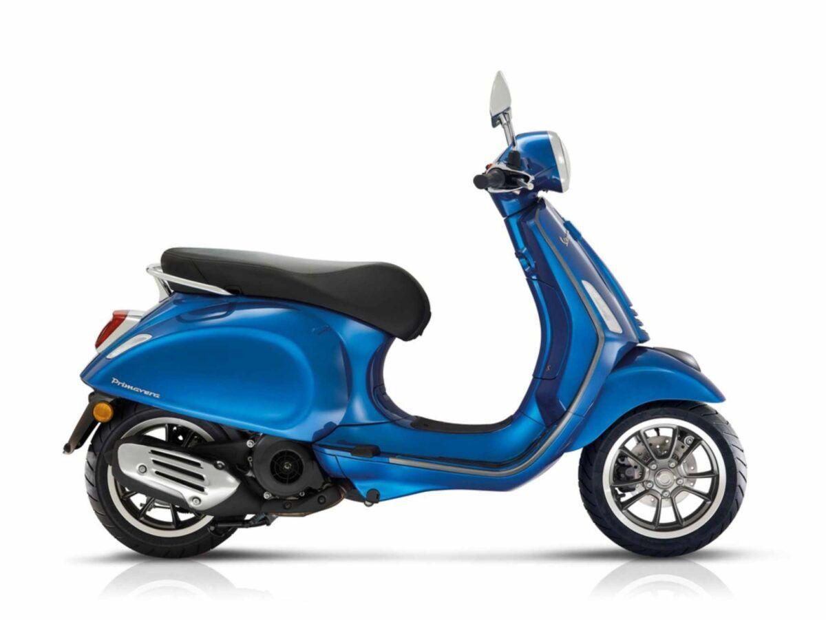 Vespa Primavera 125 S e5 azul
