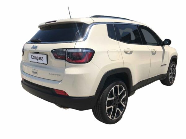 Jeep Compass Limited gasolina 1.3 150 cv de kim0 en color blanco