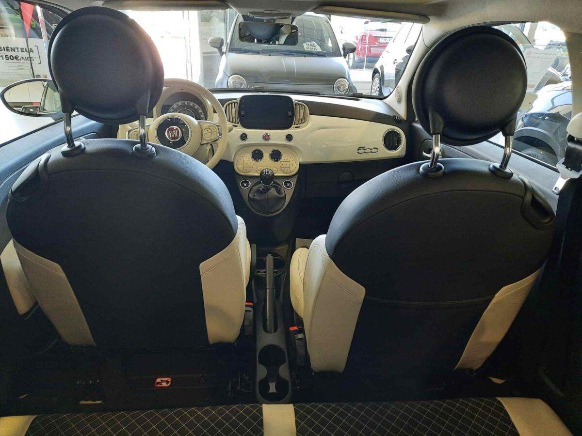 Fiat 500 híbrido Dolcevita 1.0 70 cv nuevo en color blanco