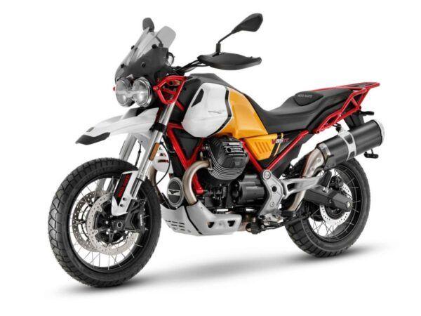 Moto Guzzi V85tt evocative euro 5 2021 amarilla
