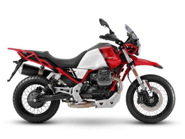 Moto Guzzi V85TT evocative euro 5 2021 en rojo