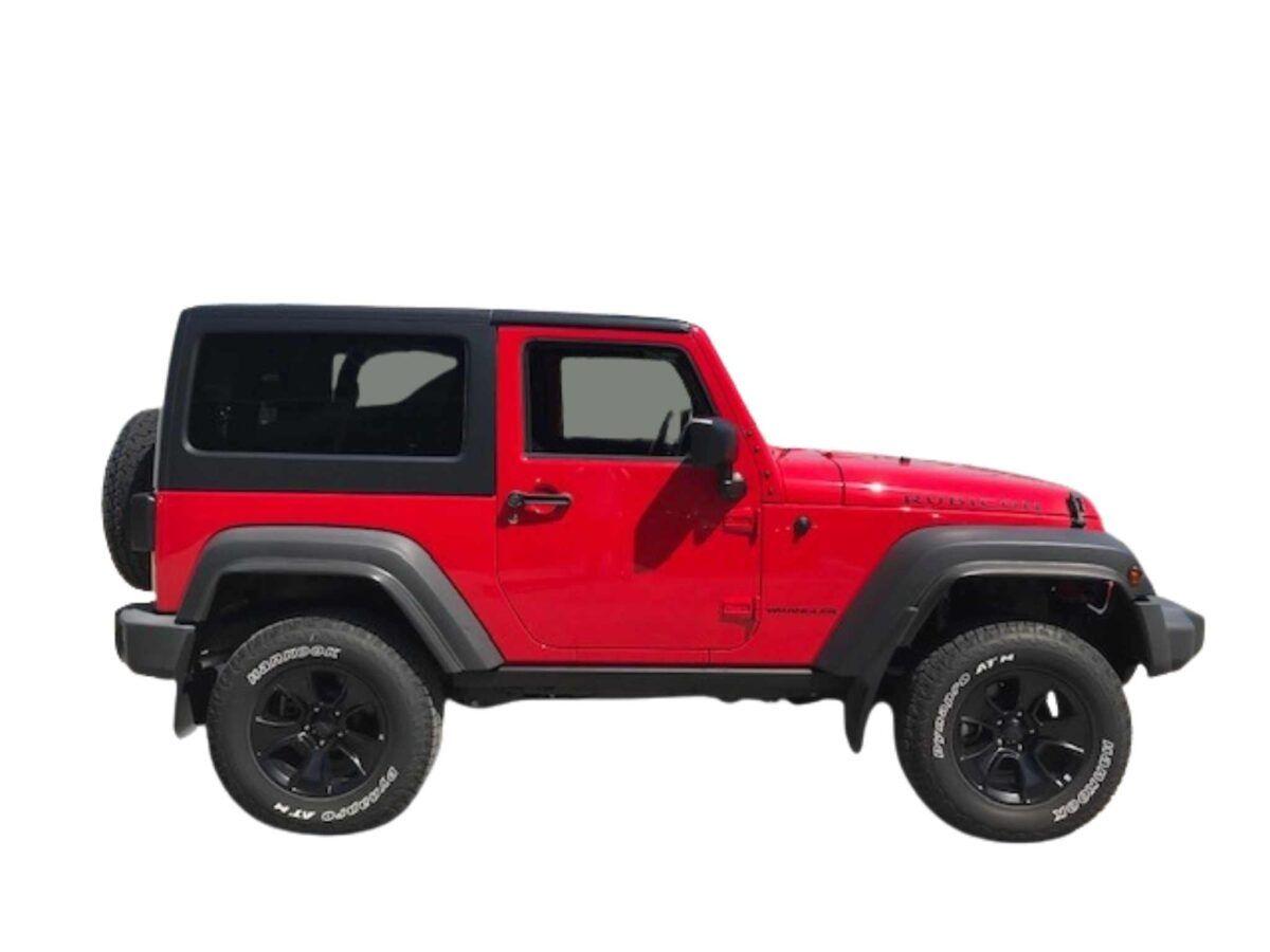 Jeep Wrangler Rubicon Mopar One diesel de km0 en color rojo