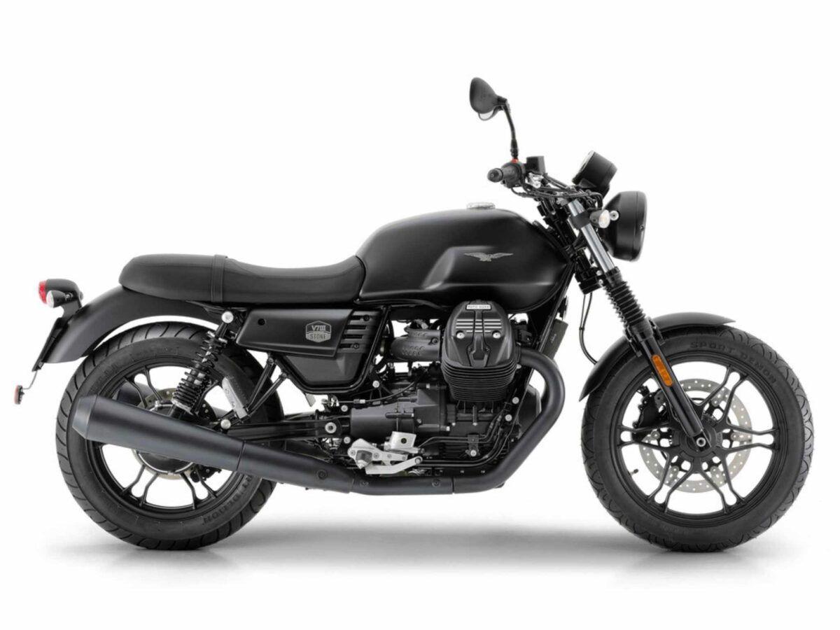 Moto Guzzi V7 III negra euro 4 en oferta
