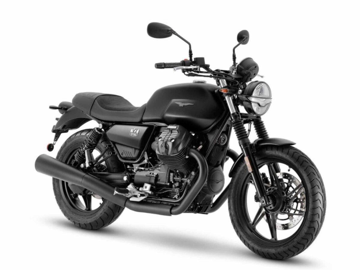 Moto Guzzi V7 Stone negra euro 5 de 2021