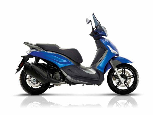 Piaggio Beverly 350 st euro 4 en color azul de oferta