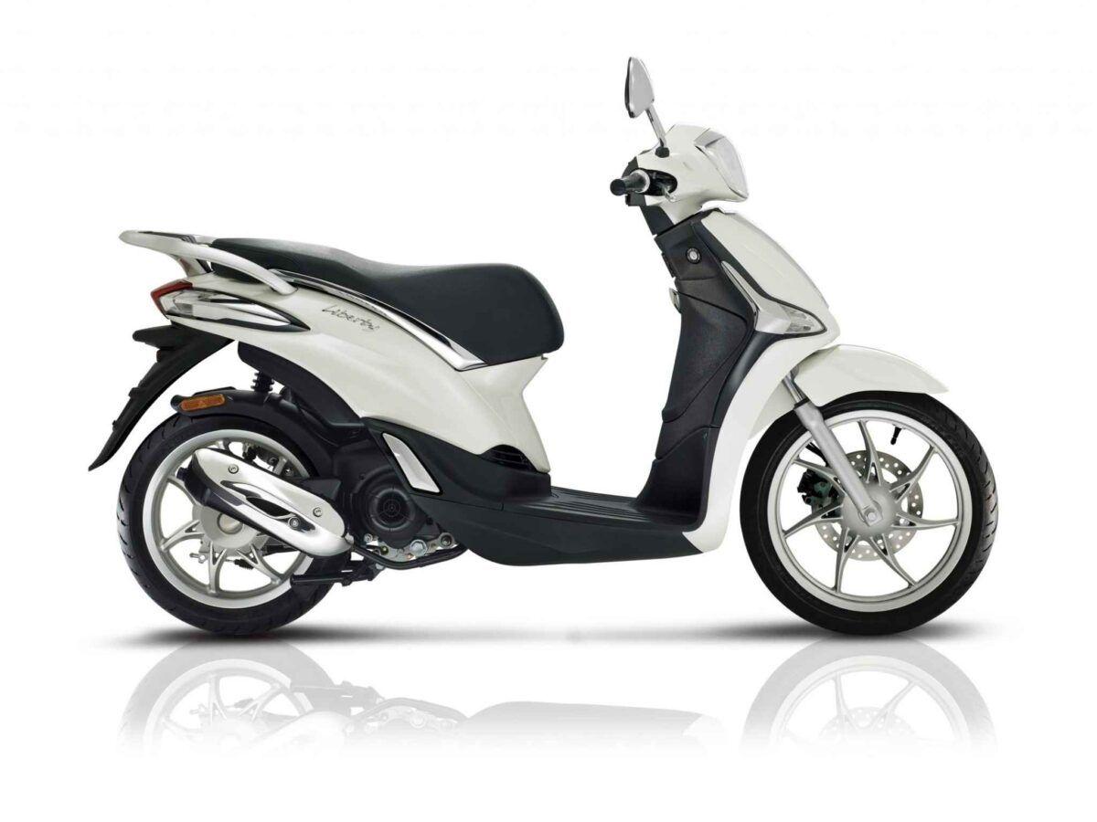 Piaggio Liberty 50 4t euro 4 en blanco de oferta