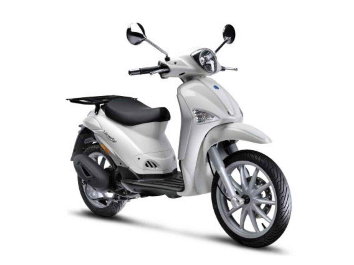 Piaggio Liberty 50 4T E4 delivery blanca