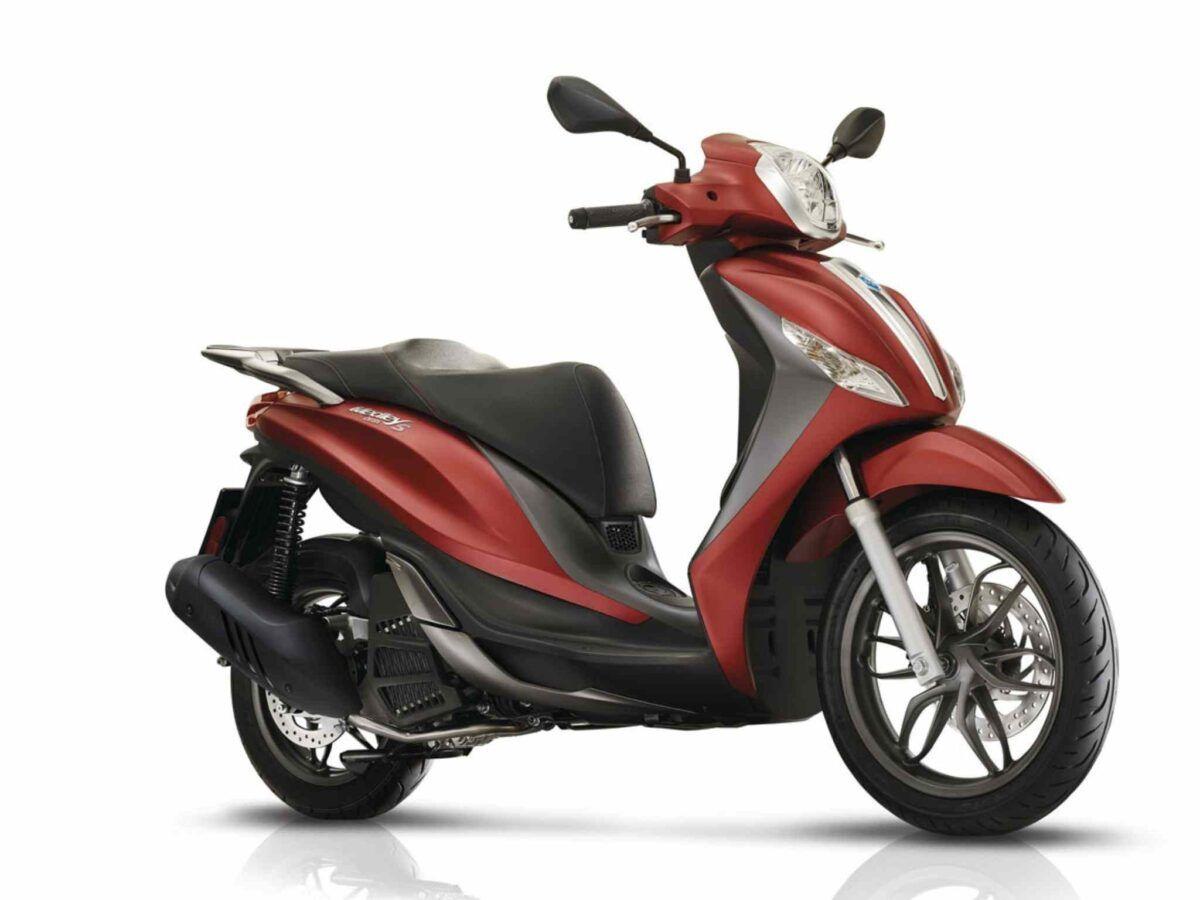 Piaggio Medley 125 S roja euro 4 en oferta