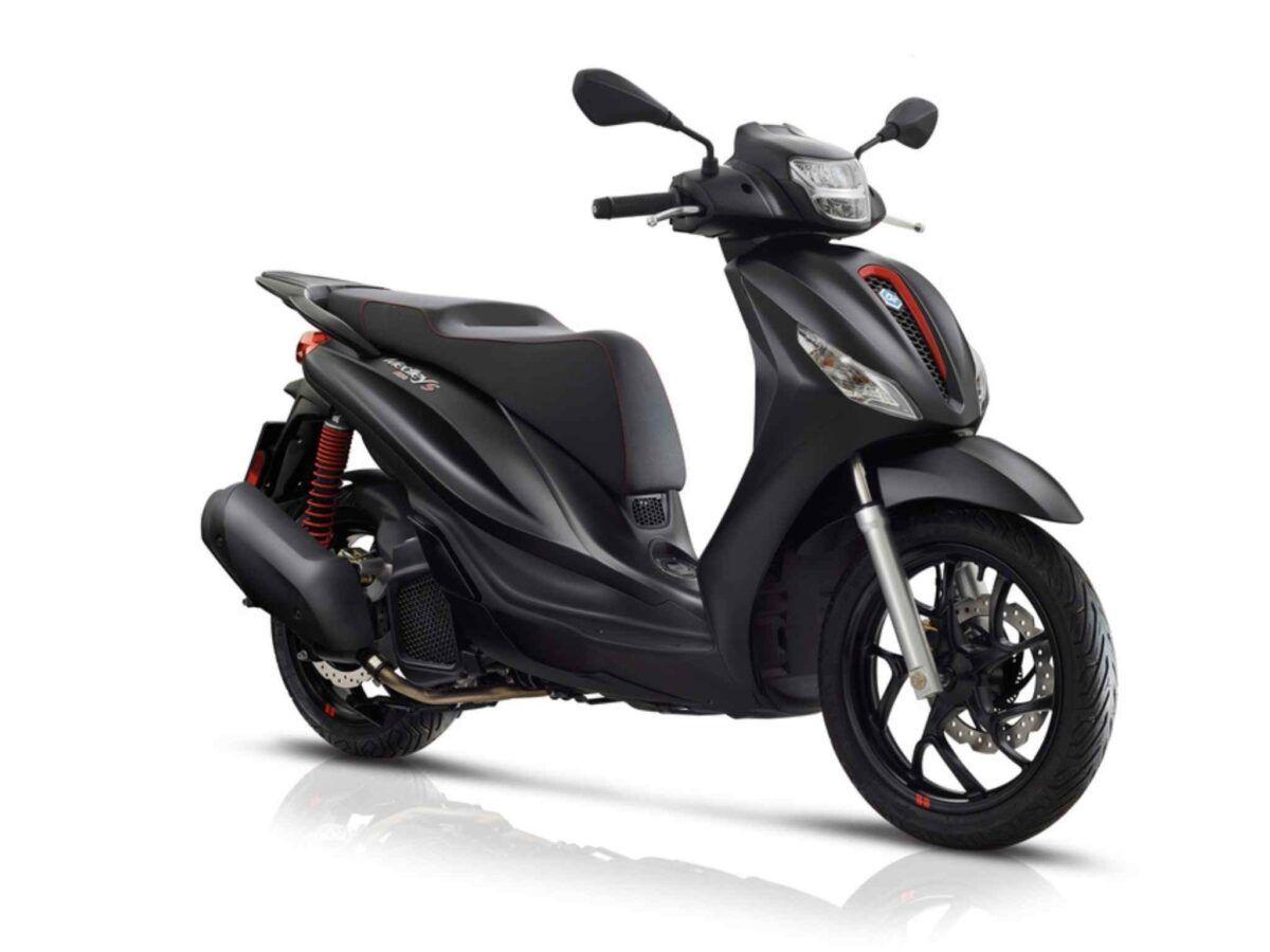 Piaggio Medley S 125 del 2021 en oferta color negro